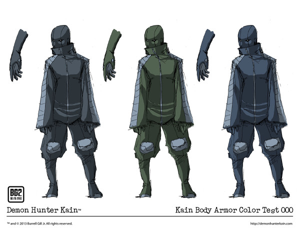 Kain Body Armor Color Test 000